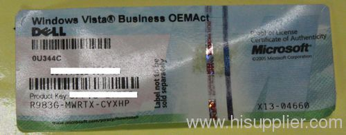windows vista business oemact