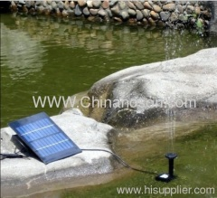 Fountain Solar Water Pump for Pool use G-Y-D-0018