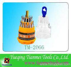 30 pcs promotional tool / screwdriver set