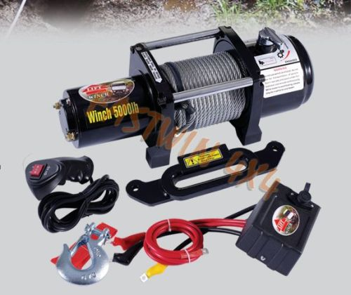 Auto Electric 4x4 Winch 5000lb CE Winch