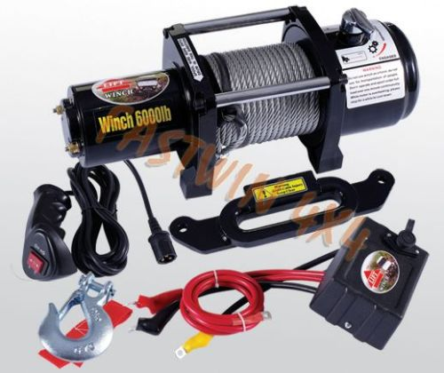 4WD Winch S6000 Waterproofed
