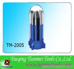 9 piece promotional household tool set / screwdriver set