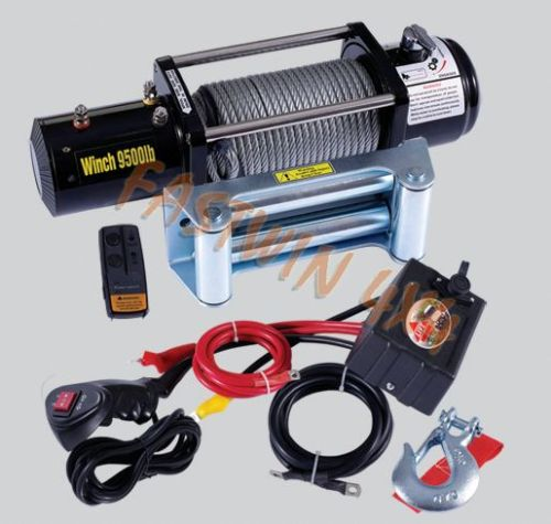Electric Truck Winch 9500LBS(4300kgs)