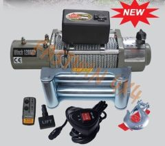Power Winch with 500A Solenoid
