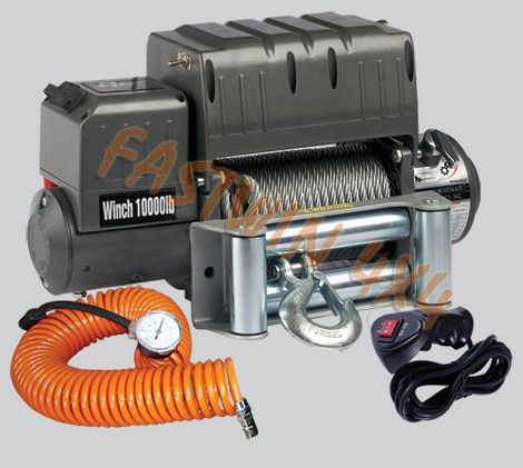 (12000lbs) 4x4 Winch With Air Compressor