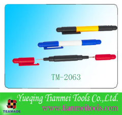 compact screwdriver set contain 2 Phillips screwdriver, 2 slotted screwdriver