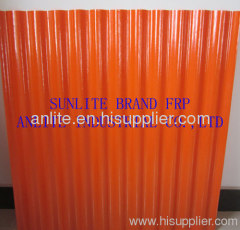 frp transparent corrugated sheet from China manufacturer