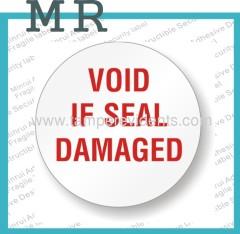 Tamper Proof Security Seals