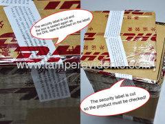 custom tamper proof seals