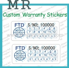date warranty stickers