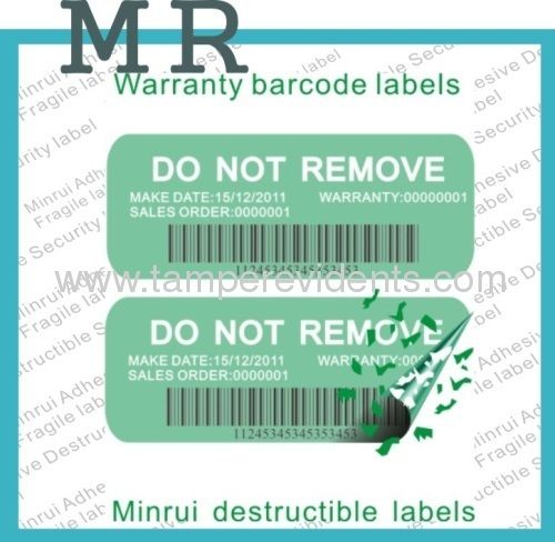 price security barcode label