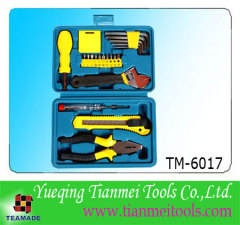 22 piece home tool set / promotion tool set / toolkit