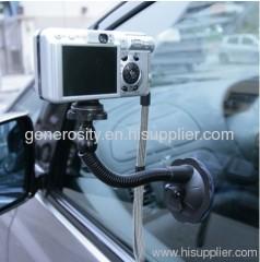 Flexible Car unipod camera mount monopod suction mount