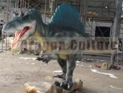 animatronic dinosaur alive