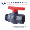pvc octagonal male&female thread ball valve