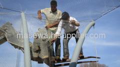 malha de corda de flesible de aço inoxidável