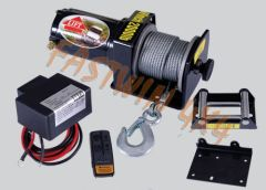 ATV Electric Winch 12V 2000 lbs (907 kg) single line