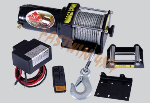 ATV Winch (2500LBS with Wireless Remote Control)