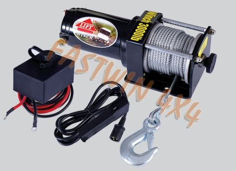 3000LB ATV Electric Winch CE approved