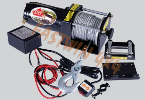 Winch with CE 3000 lbs (1361 kg) single line