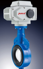 Electric Cast Iron Butterfly Valve