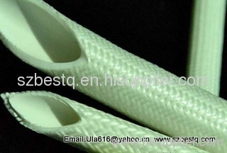 High voltage Silicone Rubber fiberglass Sleeving