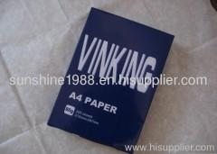 100% wood pulp 75 a4 copy paper