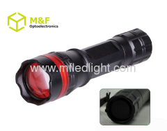 portable led flashlight zoom focus