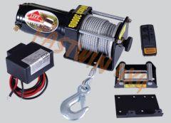 3000lb ATV Electric Winch with Wireless Remote Control