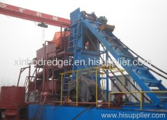 Sand Dredger with output of 5000 m3/h