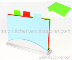 3pcs rectangle index chopping board set