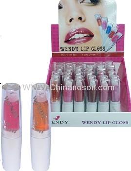 tubular color lip gloss