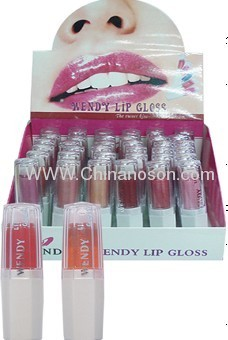 hexagonal color lip gloss
