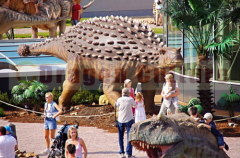 Big Attractive Indoor Animated Dinosaur 2012