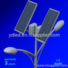 Double lamp 42watt Solar Street Light System