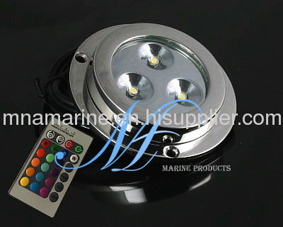 rgb boat transom underwater light, fishing boat lights, yacht, Reel Combo