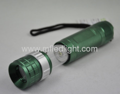 multifunctional flashlights with focus switch