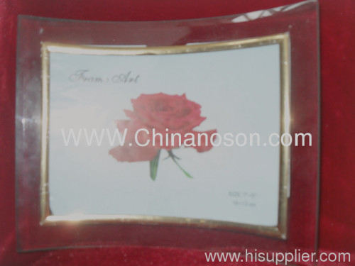 Transparent Glass Photo Frame PF03
