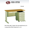 metal office computer tables with one cabinet (L1400 -L1600 mm)