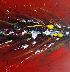 Hand-Painted Abstract Oil Painting