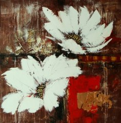 Hand-painted Floral Oil Painting