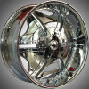 20 INCH 22 INCH 24 INCH CHROME WHEEL FOR AFTER MARKET FITMENT