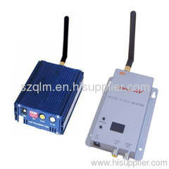 wireless audio transmitter & receiver