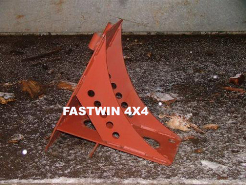 Steel Wheel Chock for 4X4 Off Road Use