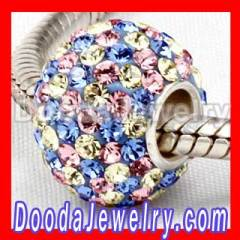 Paved Austrian Crystal Beads