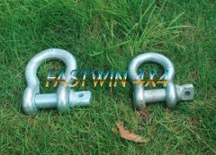 Bow shackle for Winch Use