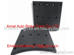 brake lining MC-809770,non asbestos brake lining,auto brake parts,heavy truck accessory,auto brake liner