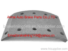 brake lining MC-809750,heavy truck accessory,Mitsubishi truck brake lining,auto brake parts,semi-metal brake lining