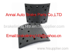 brake lining 47115-409,resin brake lining,truck drum liner,oem brake lining,automobile brake parts