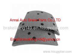 brake lining 47115-406,truck brake accessory,auto brake liner,metal rivet,non asbestos brake lining,oem brake lining